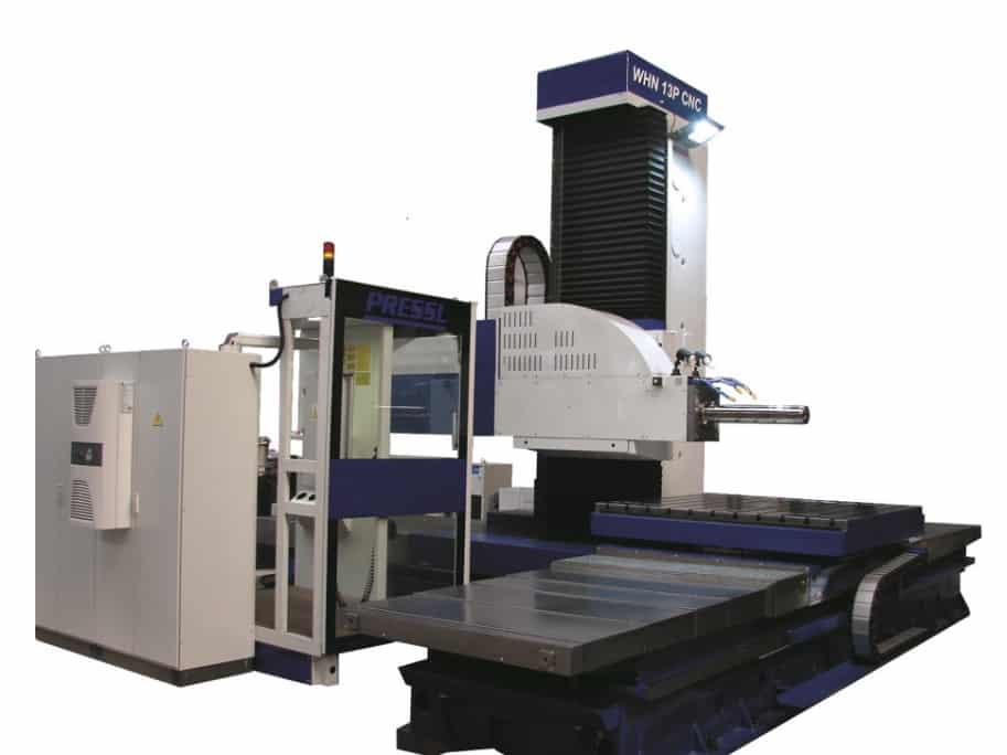WHN 13 P CNC (Vodorovná vyvrtávačka)